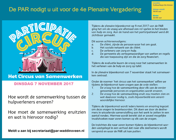 uitnodiging 7 november 2017 2
